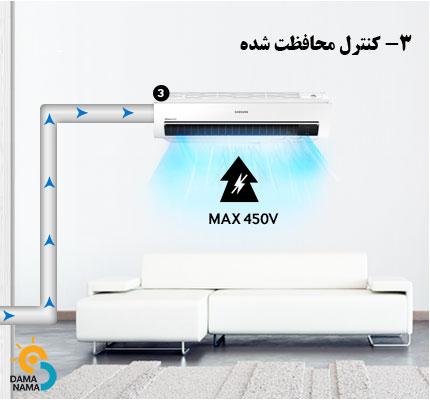 کیفیت کولر گازی سامسونگ